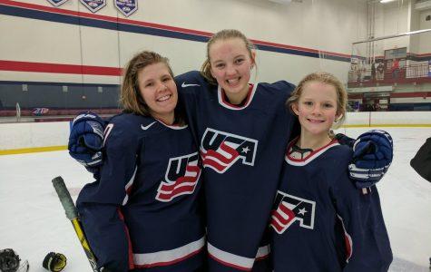 Ashley Schintz plays for Team USA