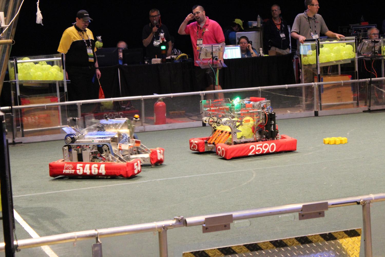 CIHS+Robot+competes+at+World+Championships.
