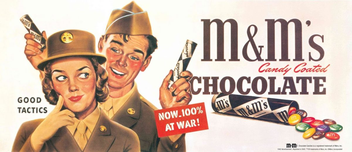The history of m &m's