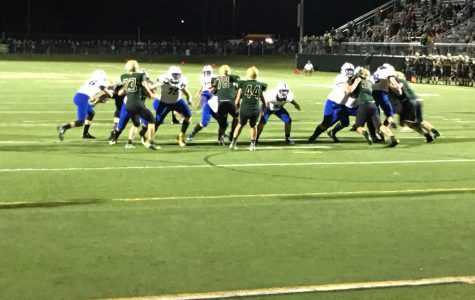 Bluejacket grid iron come from behind victory