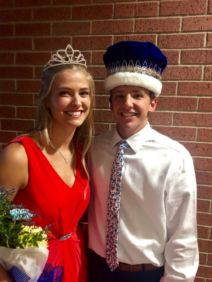 Homecoming King and Queen crowned
