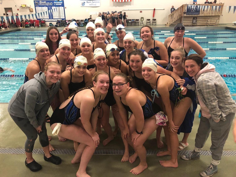2019 CIHS Girl's Swim Team.