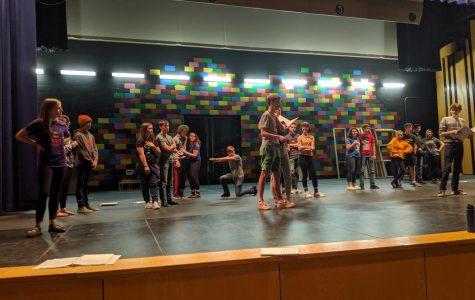 Joseph and the Technicolor Dream Coat Rehearsal photo