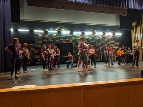 Joseph and the Technicolor Dream Coat Rehearsal photo