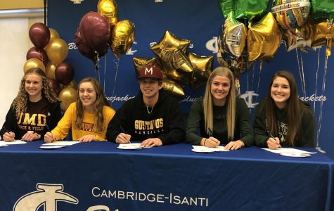 Five Bluejackets sign early to play college sports